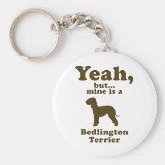 Bedlington Terrier Llaveros Personalizados