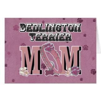 Bedlington Terrier MOM Greeting Card
