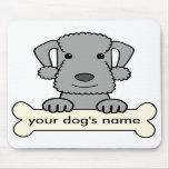 Bedlington Terrier personalizado Alfombrilla De Raton