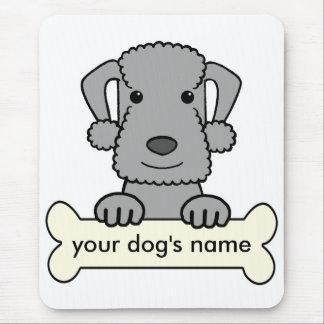 Bedlington Terrier personalizado Tapetes De Raton