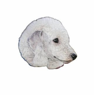 Bedlington Terrier Photo Statuette