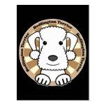 Bedlington Terrier Postal