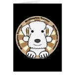 Bedlington Terrier Tarjeta