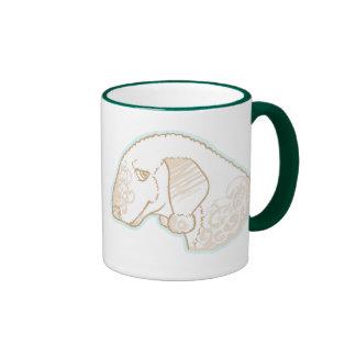 Bedlington Terriers Ringer Mug
