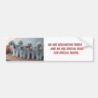 Bedlingtons y Special Pegatina Para Auto
