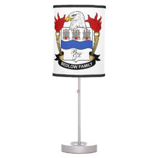 Bedlow Family Crest Desk Lamp
