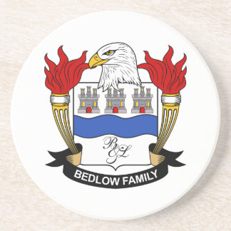 Bedlow Family Crest Drink Coasters