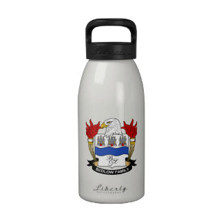 Bedlow Family Crest Drinking Bottle