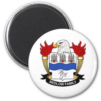 Bedlow Family Crest Fridge Magnet