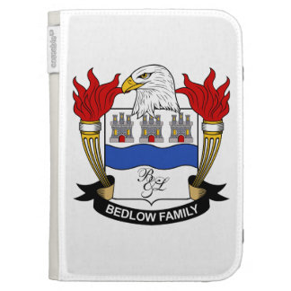 Bedlow Family Crest Kindle 3G Covers
