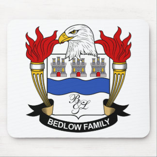 Bedlow Family Crest Mouse Mats