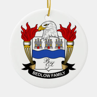 Bedlow Family Crest Ornament