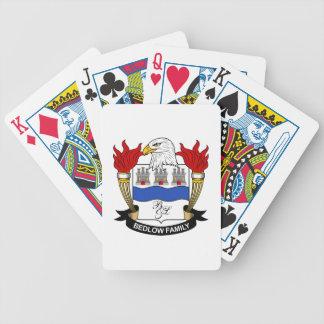 Bedlow Family Crest Poker Deck