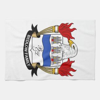 Bedlow Family Crest Towels