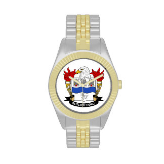 Bedlow Family Crest Wrist Watches