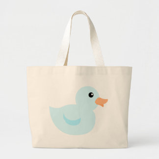 Bedotted Duck in Blue Canvas Bags