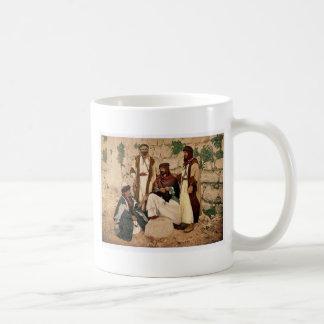 Bedouin group, Holy Land rare Photochrom Classic White Coffee Mug