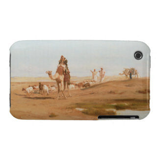 Bedouin in the Desert, 1884 (oil on canvas) iPhone 3 Cases