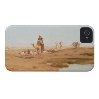 Bedouin in the Desert, 1884 (oil on canvas) iPhone 4 Case-Mate Case