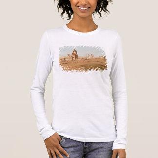 Bedouin in the Desert, 1884 (oil on canvas) Long Sleeve T-Shirt