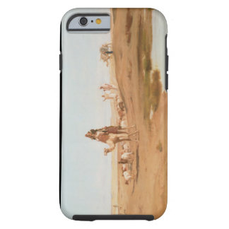 Bedouin in the Desert, 1884 (oil on canvas) Tough iPhone 6 Case