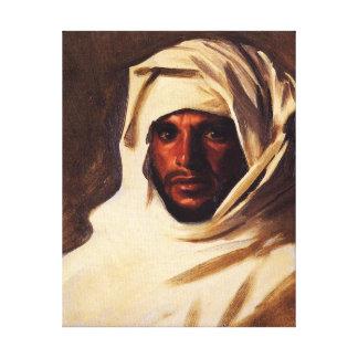Bedouin - John Singer Sargent Arabic Painting Canvas Print