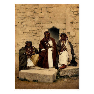 Bedouins of the Jordan District, Holy Land rare Ph Postcard