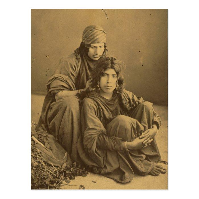 Bedouins, West Bank, Jericho Vintage Postcard