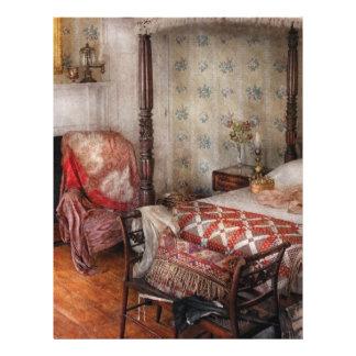Bedroom - A place to sleep Letterhead