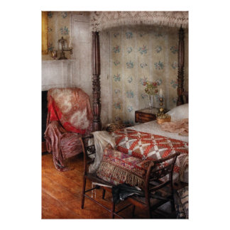 Bedroom - A place to sleep Posters