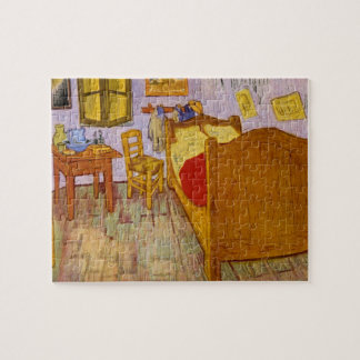 Bedroom at Arles_Impressionists Jigsaw Puzzle