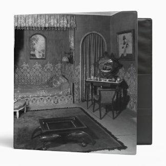 Bedroom belonging to Jeanne Lanvin  c.1920-25 Binder
