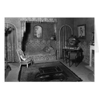 Bedroom belonging to Jeanne Lanvin  c.1920-25 Card