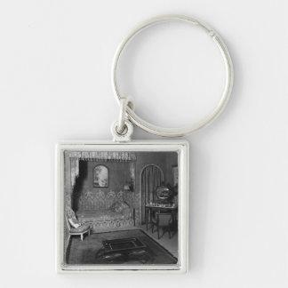 Bedroom belonging to Jeanne Lanvin  c.1920-25 Keychain