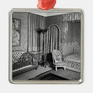 Bedroom belonging to Jeanne Lanvin  c.1920-25 Metal Ornament