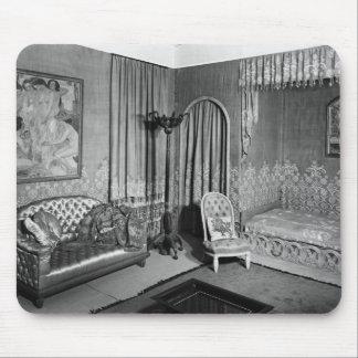 Bedroom belonging to Jeanne Lanvin  c.1920-25 Mouse Pad