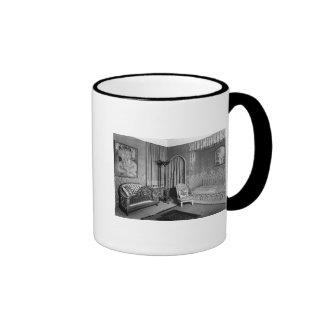Bedroom belonging to Jeanne Lanvin  c.1920-25 Ringer Mug