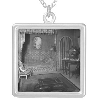 Bedroom belonging to Jeanne Lanvin  c.1920-25 Silver Plated Necklace