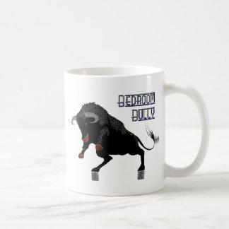bedroom bully (dots) coffee mug