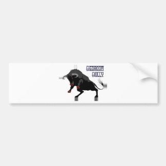 bedroom bully full bumper sticker