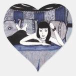 Bedroom Heart Sticker