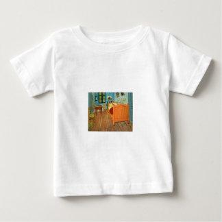 Bedroom in Arles by Vincent Van Gogh Baby T-Shirt