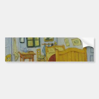 Bedroom in Arles by Vincent Van Gogh Bumper Sticker