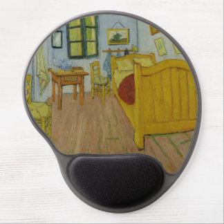 Bedroom in Arles by Vincent Van Gogh Gel Mouse Mat