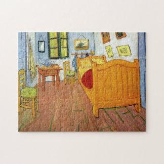 Bedroom in Arles by Vincent van Gogh Jigsaw Puzzle