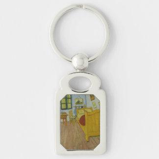 Bedroom in Arles by Vincent Van Gogh Key Chain