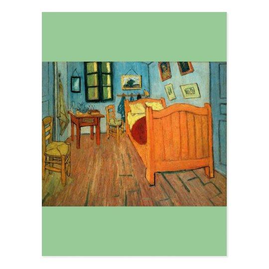 Bedroom in Arles by Vincent Van Gogh Postcard