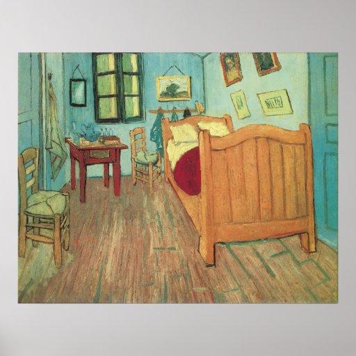 Bedroom in Arles by Vincent van Gogh Poster