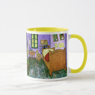 Bedroom in Arles (F483) Van Gogh Fine Art Mug