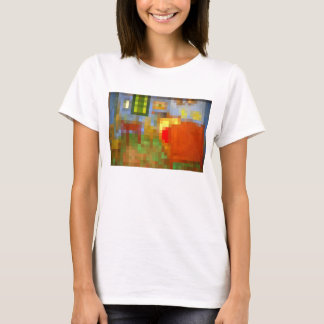 Bedroom in Arles Pixelated T-Shirt